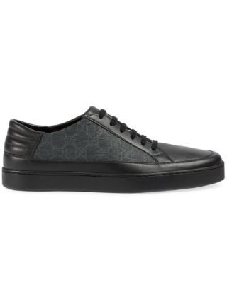 Gucci GG Supreme low-top sneaker - Black