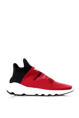 Y-3 Y-3 Suberou Red Neoprene Sneakers (rood/zwart)