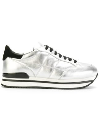 Hogan Allacciata H222 H sneakers - Metallic
