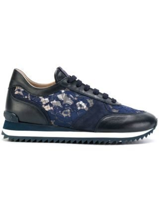 Le Silla lace embellished sneakers (blauw)