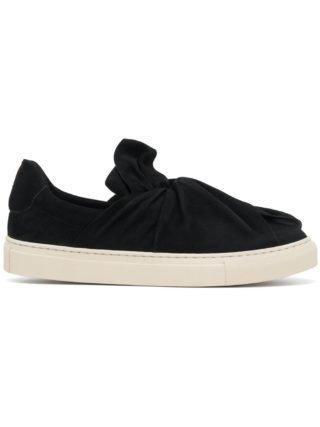 Ports 1961 twist top slip-on sneakers (zwart)