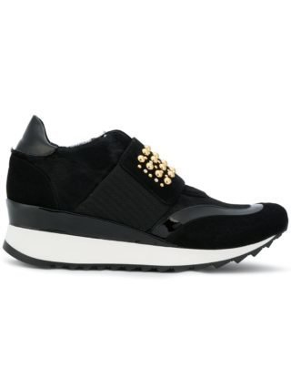 Loriblu studded platform sneakers (zwart)