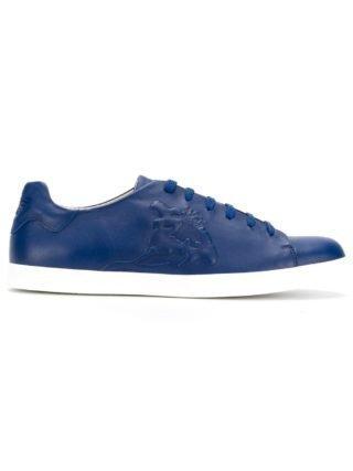 Emporio Armani lace-up sneakers (blauw)