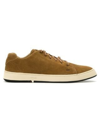 Osklen suede lace-up sneakers (bruin)