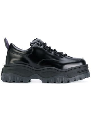 Eytys platform lace-up sneakers - Black
