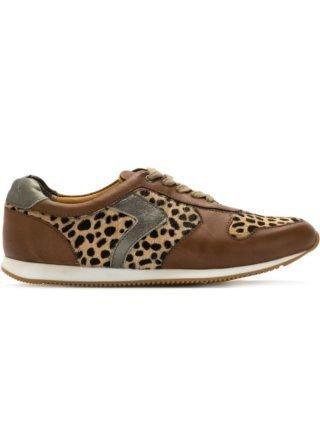 Mara Mac leopard print panels sneakers (bruin)