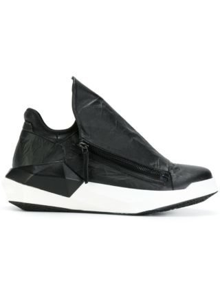 Cinzia Araia geometric sneakers (zwart)