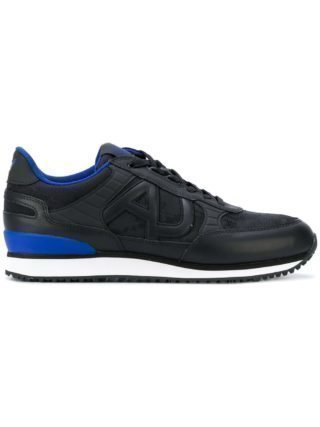 Armani Jeans low top sneakers (zwart)