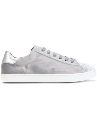 Gianvito Rossi lace-up sneakers (grijs)
