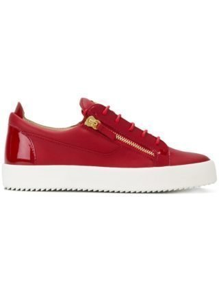 Giuseppe Zanotti Design Nicki low-top sneakers - Red