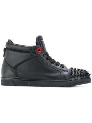 Royaums studded hi-top sneakers (zwart)