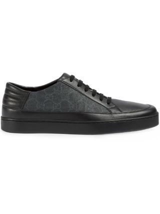 Gucci GG Supreme low-top sneakers - Black