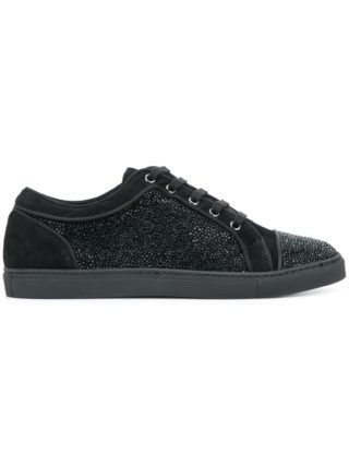 Louis Leeman embellished sneakers (zwart)