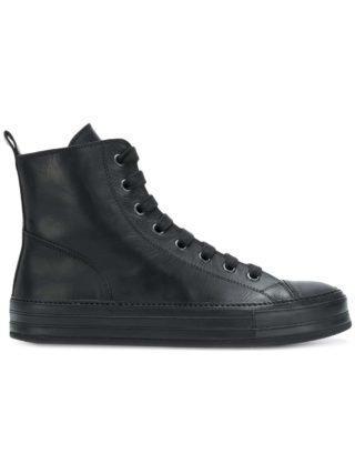 Ann Demeulemeester Blanche hi-top sneakers (zwart)