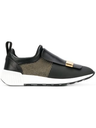 Sergio Rossi slip-on sneakers (zwart)