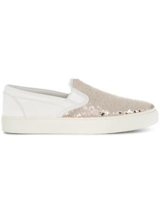 Tory Burch Carter slip-on sneakers (wit)