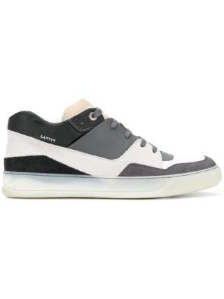 Lanvin colour block sneakers (grijs)