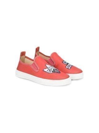 Stella Mccartney Kids slip-on sneakers (roze/paars)