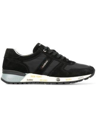Baldinini logo low-top sneakers (zwart)