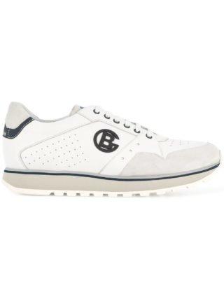 Baldinini logo low-top sneakers (wit)
