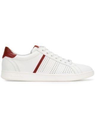 Baldinini contrast low-top sneakers (wit)