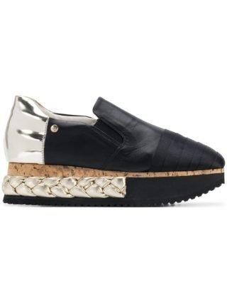 Agl multi platform sole sneakers (zwart)