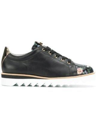 Hogl floral contrast sneakers (zwart)