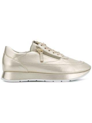 Hogl metallic platform sneakers (zilver)