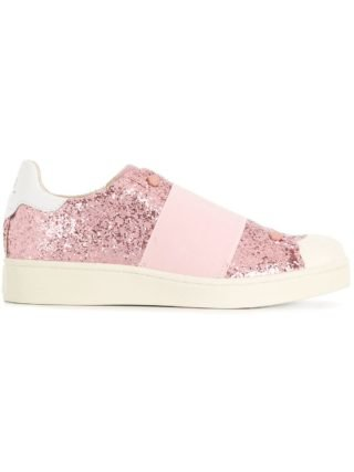 Moa Master Of Arts sequined sneakers (roze/paars)