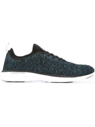 Apl mélange lace-up sneakers (blauw)