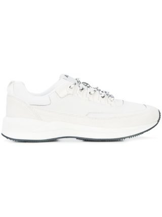 A.P.C. lace-up sneakers (wit)