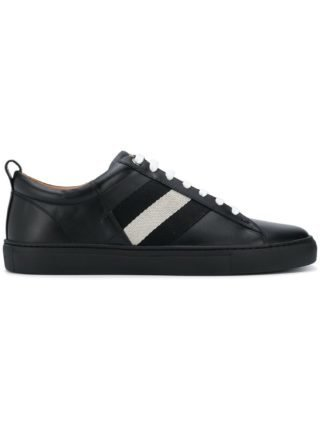 Bally contrast lace-up sneakers (Overige kleuren)
