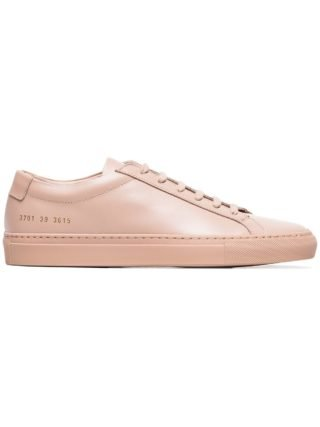 Common Projects Achilles Low-Top Sneakers - Nude & Neutrals