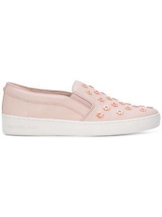 Michael Michael Kors Keaton slip-on sneakers - Pink & Purple