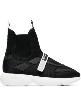 Prada Cloudbust 40 High-Top Sneakers - Black
