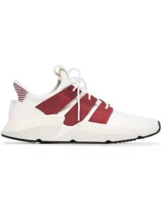 Adidas beige and red prophere sneakers - Nude & Neutrals
