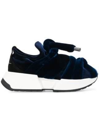 Mm6 Maison Margiela bow tie sneakers (blauw)