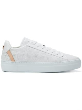 Fabi logo low-top sneakers (wit)