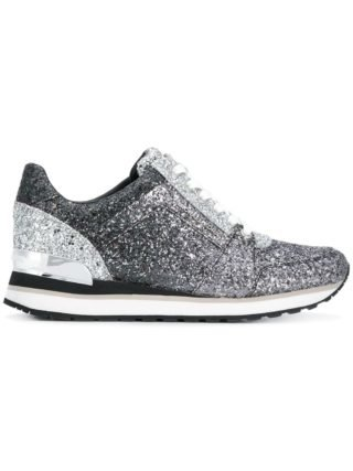 Michael Michael Kors Billie glitter sneakers - Black