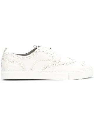 Grenson brogue sneakers (wit)
