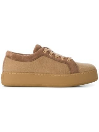 Max Mara low top sneakers (bruin)