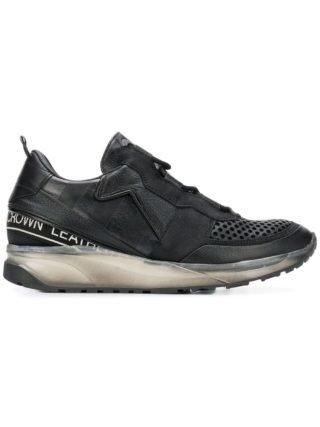 Leather Crown Iconic Aero sneakers - Black