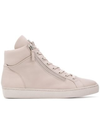 Hogl zipped lace-up sneakers (roze/paars)