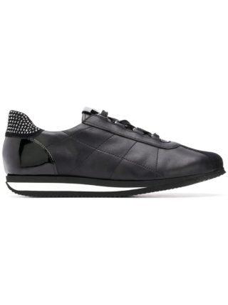 Hogl embellished lace-up sneakers (zwart)