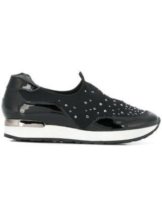 Hogl embellished slip-on sneakers (zwart)