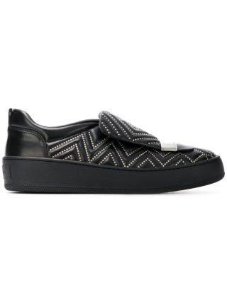 Sergio Rossi studded skater sneakers (zwart)