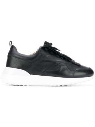 Tod's platform fringe sneakers (zwart)
