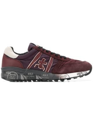 White Premiata Lander sneakers - Red