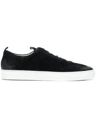 Grenson lace up sneakers (zwart)