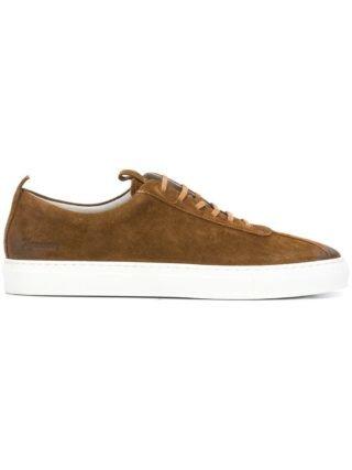 Grenson Snuff sneakers (bruin)